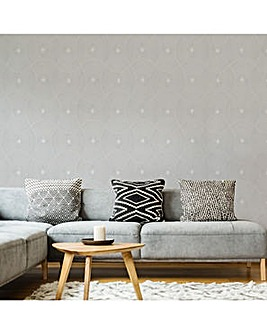 Moonstone Ulterior Geometric Wallpaper