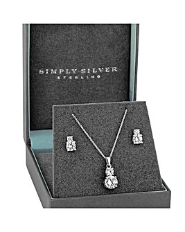 Simply Silver Solitaire Double Set