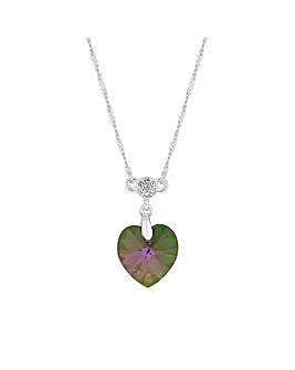 Jon Richard Swarovski Heart Pendant