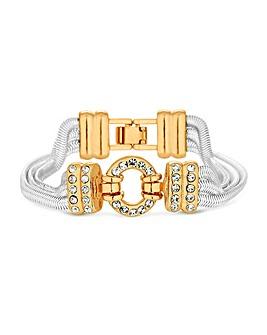 Jon Richard Two Tone Chain Bracelet