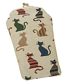 Cheeky Cat Glasses Pouch