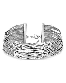 Silver Plated Slinky Bracelet