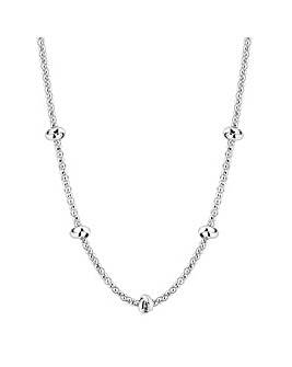 Simply Silver Knot Allway Necklace