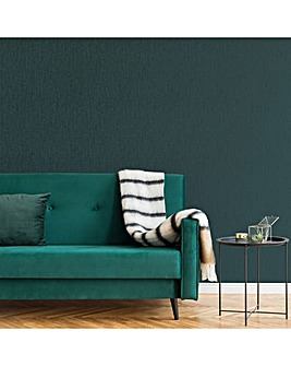 Emerald Marquise Plain Textured Wallpaper