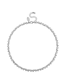 Jon Richard Swarovski Tennis Necklace