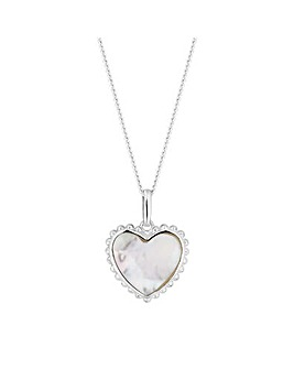 Simply Silver Heart Necklace