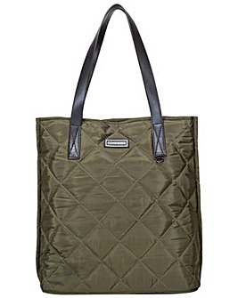 Consigned Garner Diamond Quilt Tote Bag