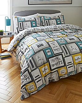 Dream Big Duvet Cover Set