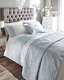 Maria Blue Duvet Cover Set