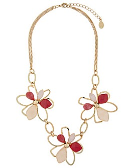Accessorize Tilly Flower Necklace
