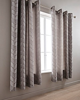 Colorado Leaf Jacquard Curtains