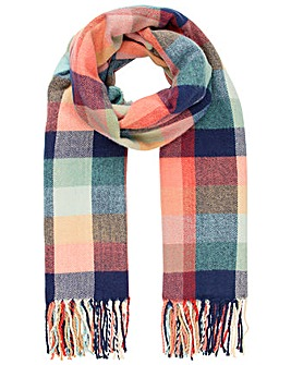 Accessorize Nomad Bright Check Blanket