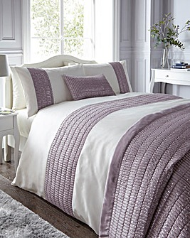Mirage Heather Duvet Cover Set
