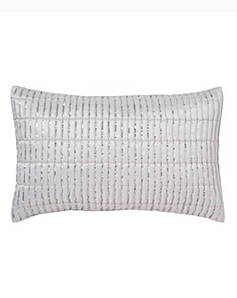 Mirage Silver Boudoir Cushion