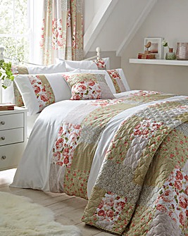 Lydia Patchwork Duvet Cover Set