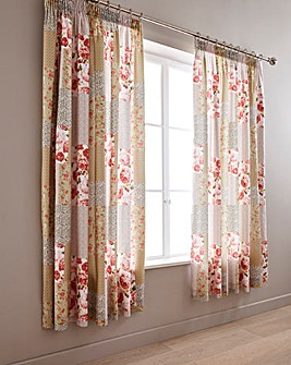 Lydia Curtains With Tie Backs