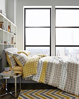 Esme Ochre Duvet Cover Set