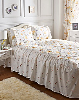 Vanessa 180Thread Count Fitted Bedspread