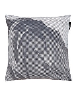 Karl Lagerfeld Pixel Rose Cushion