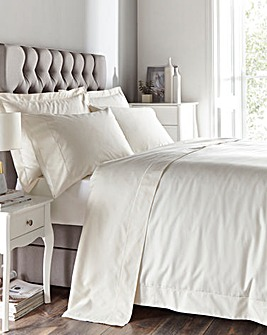Egyptian Cotton 400 Thread Count Oxford Duvet Cover