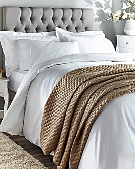 1000 Thead Count Cotton Sateen Duvet Cover