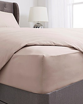 100% Cotton Percale 200 Thread Count Fitted Sheet
