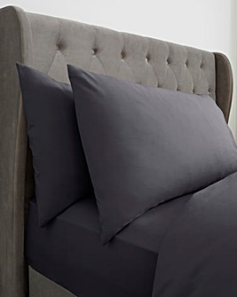 100% Cotton Percale 200 Thread Count Housewife Pillow Cases