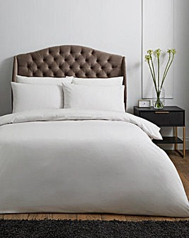 100% Cotton Percale 200 Thread Count Duvet Cover