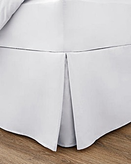 100% Cotton Percale 200 Thread Count Base Valance Sheet