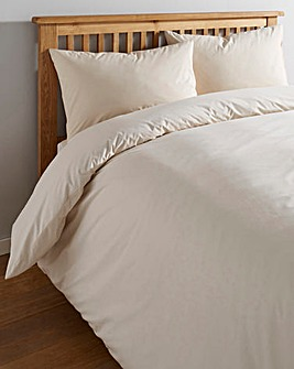 Ivory Cotton Rich 180 TC Duvet Cover