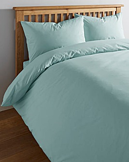 Blue Haze Cotton Rich 180 Thread Count Duvet Cover