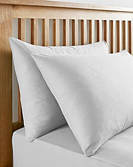 White 180 TC Housewife Pillowcases