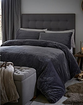 Silentnight Fleece Duvet Cover Set