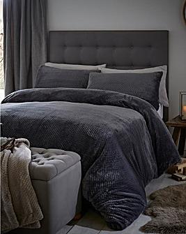 Silentnight Fleece Duvet Cover Set