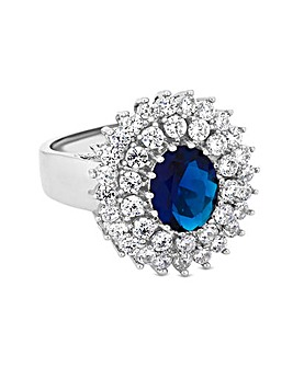 Cubic Zirconia Montana Large New Kate Ring