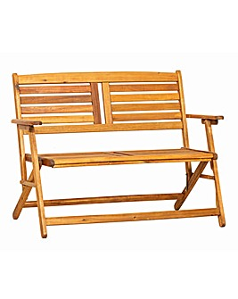 Atlantic 2 Seater Folding Bench