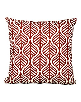 Red Leaves Background Cushion