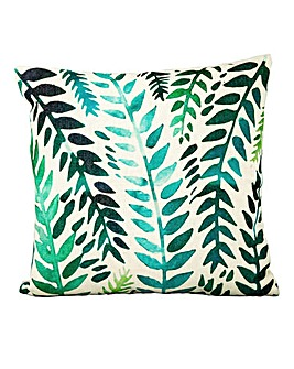Green Zanzi Leaf Cushion