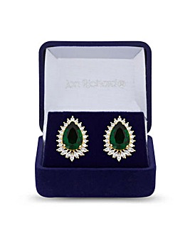 Jon Richard Pendant Stud Earring