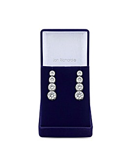 Jon Richard Tennis Drop Earring