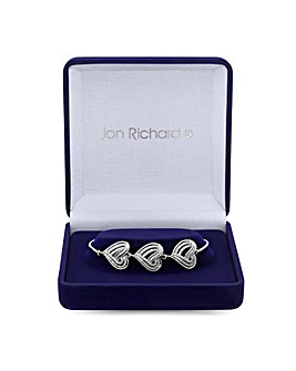 Jon Richard Heart Toggle Bracelet