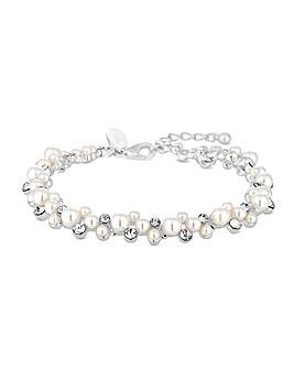 Alan Hannah Crystal Pearl Bracelet