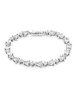 Jon Richard Cubic Zirconia Pear Bracelet