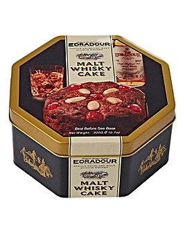 Edradour Tin of Malt Whisky Cake