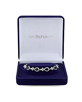 Jon Richard Montana Halo Pear Bracelet