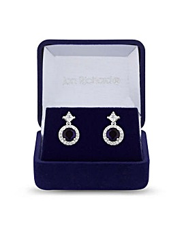 Jon Richard Montana Halo Drop Earring