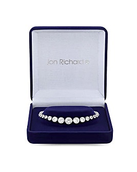 Jon Richard Polished Tennis Bracelet
