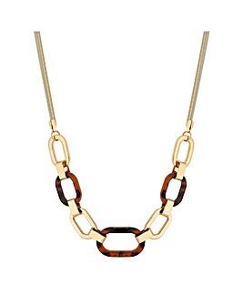 Mood Tortoishell Allway Necklace