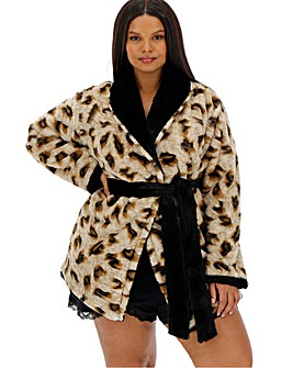 Figleaves Curve Luxury Reversible Robe