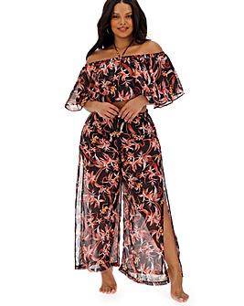 Figleaves Curve Floral Print Two Piece